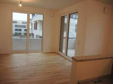 Exklusiv ausgestattete und lichtdurchflutete Neubauwohnung mit Balkon