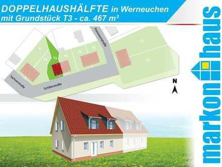 Werneuchen - Doppelhaushälfte mit Grundstück T3 ca. 467 m²