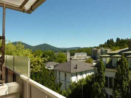 2-Zi-Whg im 1.OG, Loggia, Baden-Baden nahe SWR, Tageslichtbad, kl. EBK, frei / möbliert vermietbar