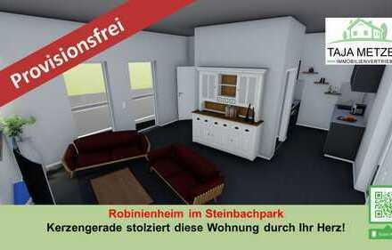 Robinienheim im Steinbachpark Hochmoderne 3-Zimmer Eigentumswohnung mit Carport und Terrasse in Kir