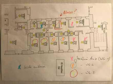 Romantisch wohnen im Schloß Kirchberg/Jagst (Mehrgenerationenhaus) - 4 von 7 Zi frei - anz@tour-mit-