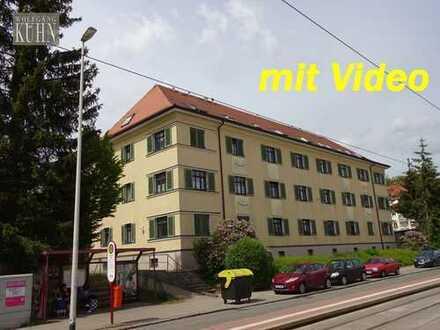 Hübsche 2-Raum-Wohnung in Marienthal nähe Krankenhaus, Laminat, Balkon, Küche mit Fenster