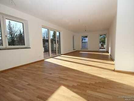 Neuwertig! Barrierefreie, zentral gelegene 3 Zimmer Wohnung (Passivhaus 40+) in Traunstein!