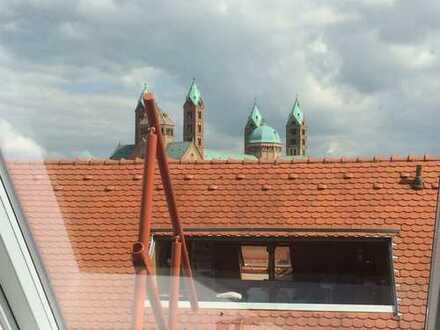 ***Tolle Dachgeschosswohnung mit Domblich in zentraler Lage von Speyer ***