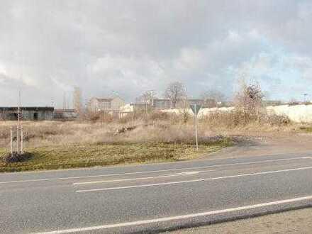 Gewerbegrundstücke zwischen 3.500 m² und 12.000 m² in Artern an der Kyffhäuserhütte!