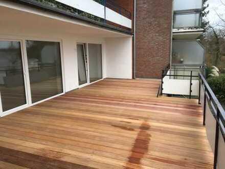 Erstbezug nach Sanierung mit Einbauküche und Balkon: schöne 2-Zimmer-Erdgeschosswohnung in Malente