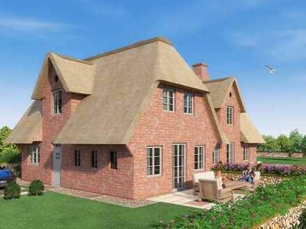 Neubau!! Strandnahe Doppelhaushälfte unter Reet mit luxuriöser Ausstattung (Nordhaus)