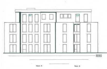 Erstbezug!! Neubau an der Peterstraße - 2 ZKB Penthouse-Wohnung - Haus A