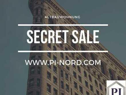 Secret Sale! Altbauwohnung mit Kamin und zwei Balkonen in 1A Lage von Kiel!