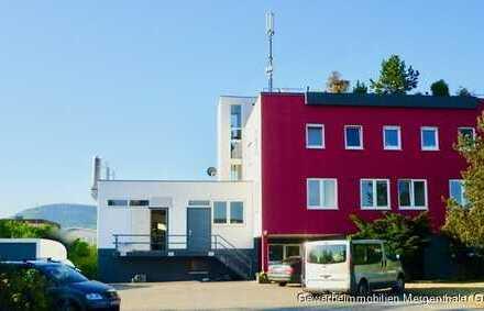 Gewerbeanwesen mit Penthouse- Wohnung in attraktiver Lage