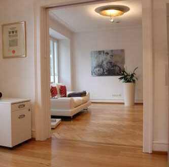 Elegante, helle 3-Zimmer-Stadtwohnung in Jugenstil-Villa in exklusiver Innenstadtlage