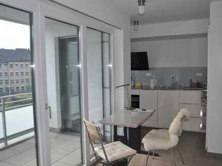Möblierte 1-Zimmerwohnung im City-Quartier Ploucquet!