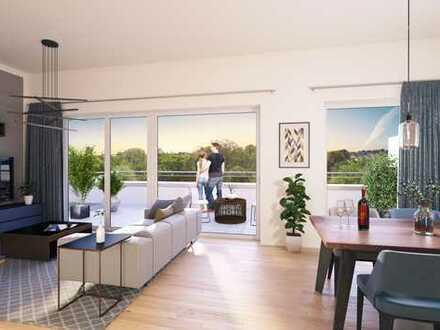 2 Zimmer Wohnung mit Dachterrasse in oberster Etage *Fördermöglich über KFW Bank möglich