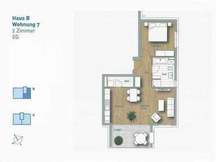 2,5-Zimmer-Wohnung - Wohnung 7 im EG