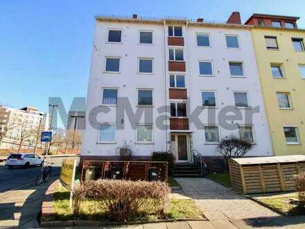 Gepflegte 3-Zimmer-Wohnung mit idealem Grundriss und Balkon im Zentrum von Bremen