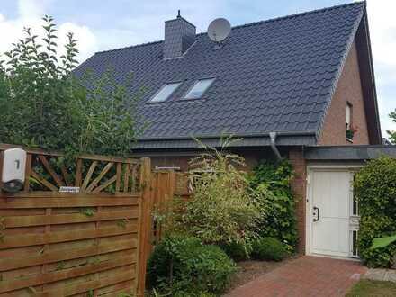 Schöne 3-4 Zimmerwohnung mit Garten im 2 Familienhaus in Brüggen