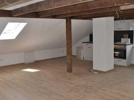 Erstbezug nach Komplettsanierung! Charmantes 1-Zimmer-DG-Apartment in gepflegter DHH (3 Wohnungen)
