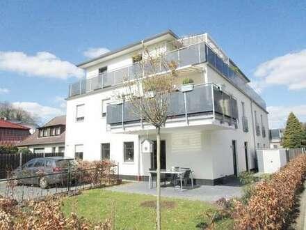 Neuwertige 3 ZKB Erdgeschosswohnung mit kleinem Garten und Einbauküche!