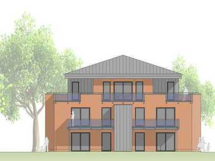 Komfortable 3 Zi.-Obergeschoss Wohnung mit offener Küche und Balkon