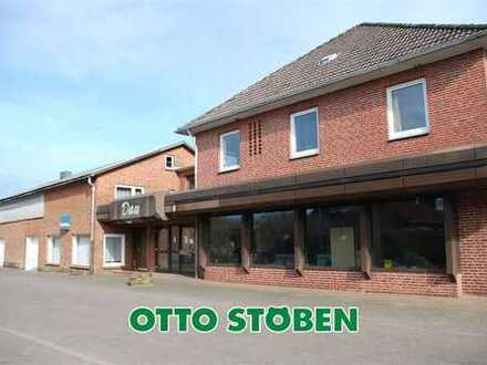 OTTO STÖBEN! Große Lager-Ladenfläche mit Stellplätzen in Nübbel im Kreis Rendsburg zu vermieten