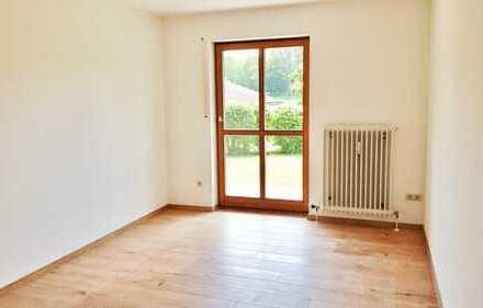 freundliche 2-Zimmer-Erdgeschosswohnung mit Terrasse und Garten in Penzberg
