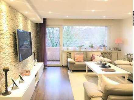 Modernisierte Eigentumswohnung mit Balkon, Stellplatz und Gartennutzung !
