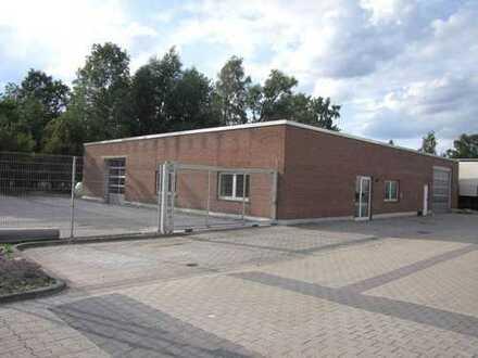 Modernisiertes Produktions-/Werkstattgebäude mit Ausstellungsfläche in optimaler Verkehrslage