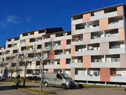 Vermietete 1-Zimmer-Wohnung mit Balkon, Keller und PKW-Stellplatz
