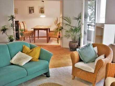 Modernes 4-ZKB-Appartement, teilmöbliert mit Balkon, Garage, in Heidelberg-Süd, 4km zur Innenstadt
