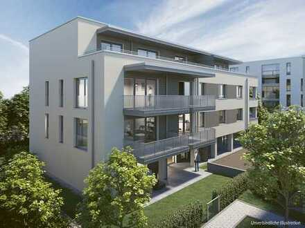 Perfekte 3-Zi.-Wohnung auf ca. 105m² mit großem Wohnbereich und sonnigem Balkon