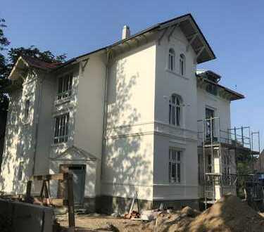 Klimafreundliches Wohnen in sanierter Villa, Energieautakie bis zu 68%, Mieterstrommodell