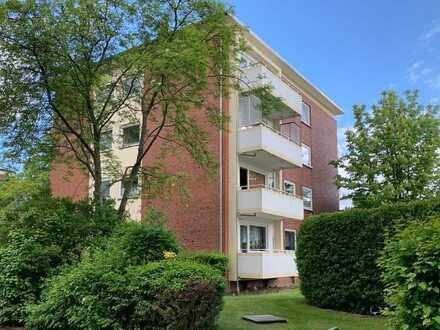 Toplage - gut vermietete 2-Zimmer-Wohnung in Langenhorn