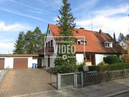 Top-Wohnlage! Attraktive Doppelhaushälfte mit großem Grundstück in Nbg.-Gartenstadt!!!