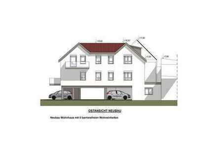 Neubau: Sehr große, helle 3-Zimmer-Dachgeschosswohnung mit Balkon - barrierefrei