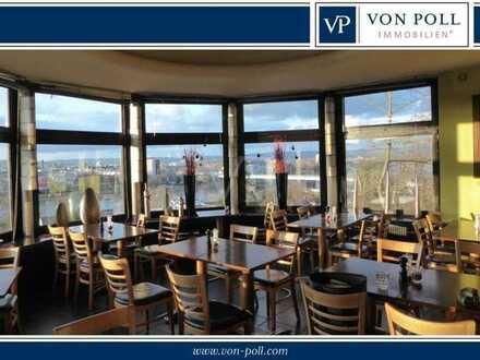 Immobilie mit Blicklage über den Rhein auf Koblenz