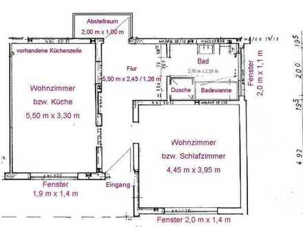 53 qm schicke Wohnung, Top Lage von Freudenberg