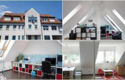 Mühlhausen: 3-Zimmer Dachgeschosswohnung inklusiven modernem Dachstudio! (# 4574)