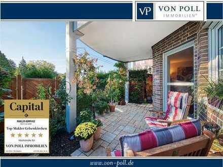 Erstklassige Erdgeschosswohnung mit kleinem Garten in Buer