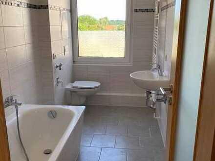 4-Raum-Whg im Erdgeschoss mit modernisiertem Bad, E-Herd und Spüle sofern gewünscht