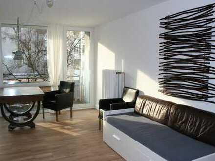 Vollmöbliert: Nähe Deuter Freiheit /1 Zimmer, 33m²,Küche,Diele,Bad,Balkon.