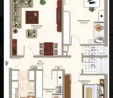 Top Sanierte 4 Zimmer Wohnung zum sofortigen Selbstbezug !!!