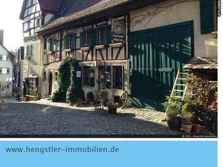 Traumhaftes 1-Zimmer-Atelier ,1. OG, teilmöbliert in der zentralen Altstadt von Nürtingen