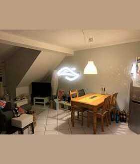 Geräumige 1-Zimmer-DG-Wohnung in Mannheim