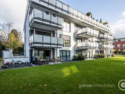 Bad Soden 1, zentral und ruhig, 2 Jahre alter Neubau, Terrasse, Garten, Aufzug zur Tiefgarage