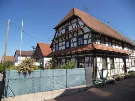 Ruhig gelegenes Fachwerkhaus  in Rastatt-Ottersdorf