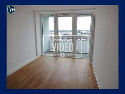 So wohne ich gerne! Modernisierte 2 Zimmer in der City, 9. Obergeschoss (inkl. Aufzug) + Balkon
