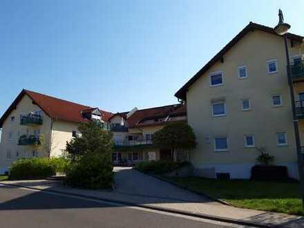 ruhige 1-Zimmer-Wohnung im Dachgeschoß (2.OG) mit Balkon OT Döbbrick