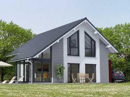 Nähe B 9 Bauen wir Ihnen Ihr KFW 40 Niedrigenergie Haus mit großem Garten.