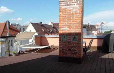 2-Zimmer Wohnung mit 20 m² Dachterrasse