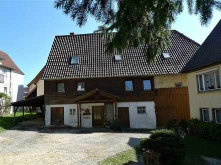 Außergewöhnliches Haus mit 2 Wohnungen, Scheune und großem Garten in Lichtenwald zu verkaufen !